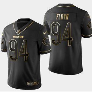 Bears #94 Leonard Floyd Golden Edition Jersey
